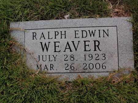 WEAVER, RALPH EDWIN - Searcy County, Arkansas | RALPH EDWIN WEAVER - Arkansas Gravestone Photos
