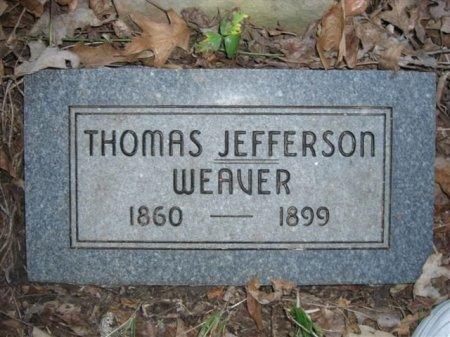 WEAVER, THOMAS JEFFERSON - Searcy County, Arkansas | THOMAS JEFFERSON WEAVER - Arkansas Gravestone Photos