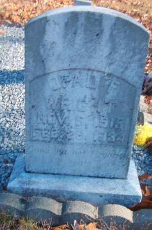 WRIGHT, OPAL F. - Searcy County, Arkansas | OPAL F. WRIGHT - Arkansas Gravestone Photos