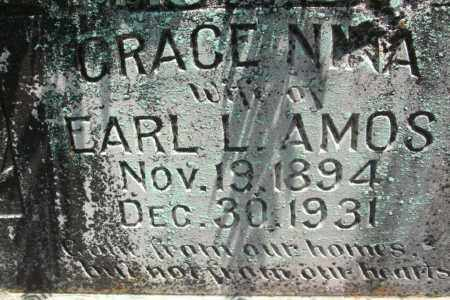 AMOS, GRACE NINA - Sebastian County, Arkansas | GRACE NINA AMOS - Arkansas Gravestone Photos