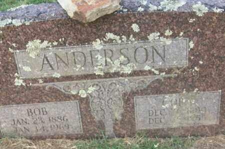 ANDERSON, BOB - Sebastian County, Arkansas | BOB ANDERSON - Arkansas Gravestone Photos