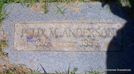 ANDERSON, BETTY M - Sebastian County, Arkansas | BETTY M ANDERSON - Arkansas Gravestone Photos