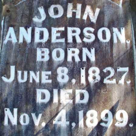 ANDERSON, JOHN - Sebastian County, Arkansas   JOHN ANDERSON - Arkansas Gravestone Photos