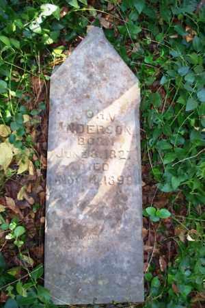ANDERSON, JOHN (2) - Sebastian County, Arkansas | JOHN (2) ANDERSON - Arkansas Gravestone Photos