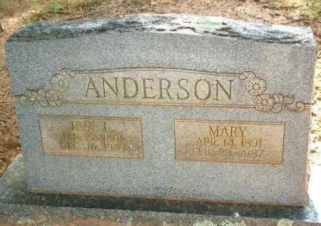 ANDERSON, MARY - Sebastian County, Arkansas | MARY ANDERSON - Arkansas Gravestone Photos