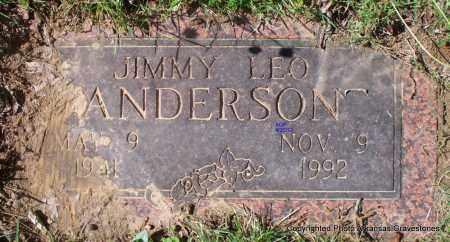 ANDERSON, JIMMY LEO (2ND STONE) - Sebastian County, Arkansas   JIMMY LEO (2ND STONE) ANDERSON - Arkansas Gravestone Photos
