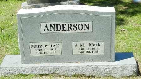 ANDERSON, MARGUERITE E - Sebastian County, Arkansas   MARGUERITE E ANDERSON - Arkansas Gravestone Photos