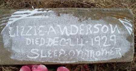ANDERSON, L:IZZIE - Sebastian County, Arkansas   L:IZZIE ANDERSON - Arkansas Gravestone Photos