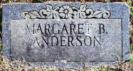 ANDERSON, MARGARET B - Sebastian County, Arkansas | MARGARET B ANDERSON - Arkansas Gravestone Photos