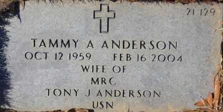 ANDERSON, TAMMY A - Sebastian County, Arkansas | TAMMY A ANDERSON - Arkansas Gravestone Photos