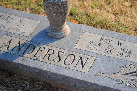 "ANDERSON, WILLIS FAY ""BIGGON"" - Sebastian County, Arkansas | WILLIS FAY ""BIGGON"" ANDERSON - Arkansas Gravestone Photos"