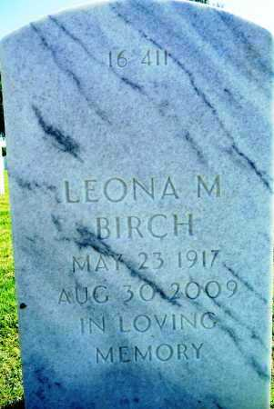 BIRCH, LEONA M - Sebastian County, Arkansas | LEONA M BIRCH - Arkansas Gravestone Photos