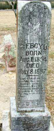 BOYD, B F - Sebastian County, Arkansas   B F BOYD - Arkansas Gravestone Photos