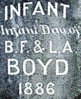 BOYD, INFANT DAUGHTER - Sebastian County, Arkansas | INFANT DAUGHTER BOYD - Arkansas Gravestone Photos