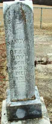 BOYD, NANCY R - Sebastian County, Arkansas   NANCY R BOYD - Arkansas Gravestone Photos