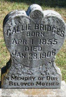 "JONES BRIDGES, CAROLYN ""CALLIE"" - Sebastian County, Arkansas | CAROLYN ""CALLIE"" JONES BRIDGES - Arkansas Gravestone Photos"