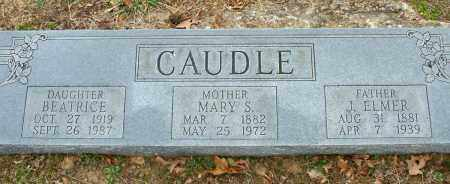 CAUDLE, BEATRICE - Sebastian County, Arkansas | BEATRICE CAUDLE - Arkansas Gravestone Photos