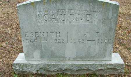 CAUDLE, ESENITH - Sebastian County, Arkansas | ESENITH CAUDLE - Arkansas Gravestone Photos