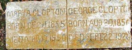 CLOPTON, MARY A. - Sebastian County, Arkansas   MARY A. CLOPTON - Arkansas Gravestone Photos