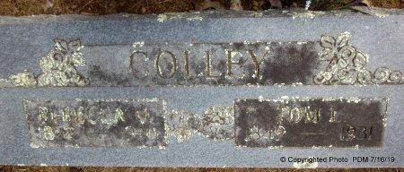 PILLEY COLLEY, REBECCA MELVINA - Sebastian County, Arkansas   REBECCA MELVINA PILLEY COLLEY - Arkansas Gravestone Photos