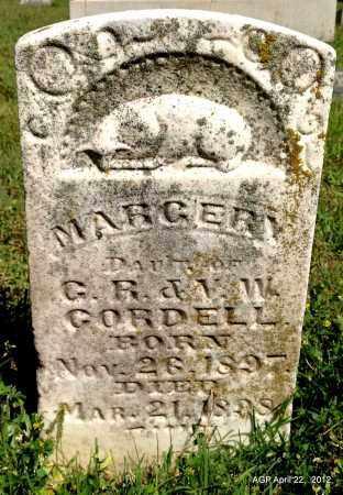 CORDELL, MARGERY - Sebastian County, Arkansas | MARGERY CORDELL - Arkansas Gravestone Photos