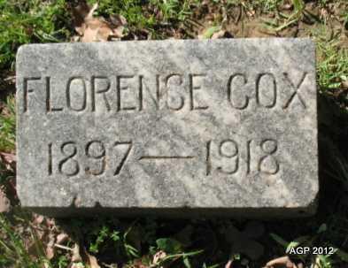 COX, FLORENSE - Sebastian County, Arkansas | FLORENSE COX - Arkansas Gravestone Photos