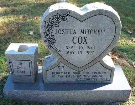 COX, JOSHUA MITCHELL - Sebastian County, Arkansas | JOSHUA MITCHELL COX - Arkansas Gravestone Photos