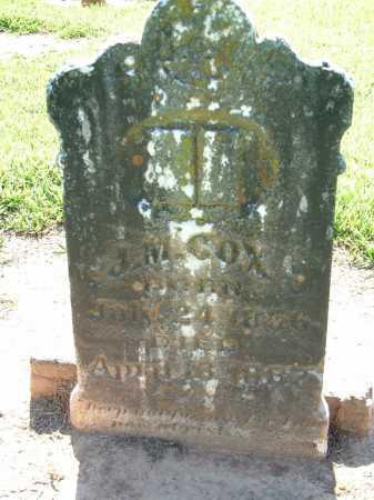 COX, J M - Sebastian County, Arkansas | J M COX - Arkansas Gravestone Photos