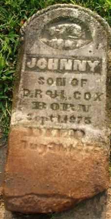 COX, JOHNNY - Sebastian County, Arkansas   JOHNNY COX - Arkansas Gravestone Photos
