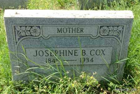 COX, JOSEPHINE B - Sebastian County, Arkansas | JOSEPHINE B COX - Arkansas Gravestone Photos
