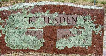 CRITTENDEN, T. FLOYD - Sebastian County, Arkansas | T. FLOYD CRITTENDEN - Arkansas Gravestone Photos