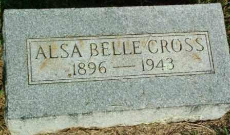 CROSS, ALSA BELLE - Sebastian County, Arkansas | ALSA BELLE CROSS - Arkansas Gravestone Photos