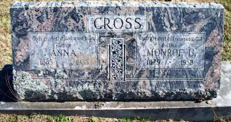 CROSS, ANNA ARTILLE - Sebastian County, Arkansas | ANNA ARTILLE CROSS - Arkansas Gravestone Photos