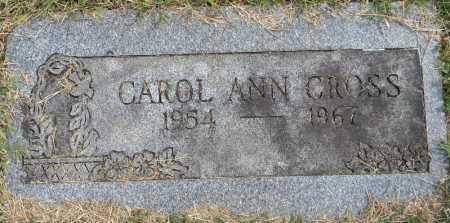 CROSS, CAROL ANN - Sebastian County, Arkansas   CAROL ANN CROSS - Arkansas Gravestone Photos