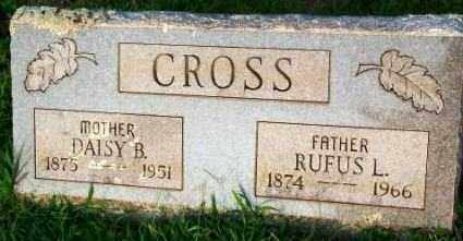 CROSS, RUFUS L. - Sebastian County, Arkansas | RUFUS L. CROSS - Arkansas Gravestone Photos