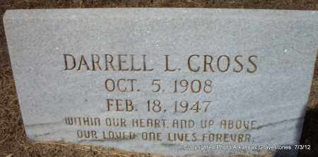 CROSS, DARRELL L - Sebastian County, Arkansas | DARRELL L CROSS - Arkansas Gravestone Photos