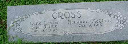 CROSS, GENE LESTER - Sebastian County, Arkansas | GENE LESTER CROSS - Arkansas Gravestone Photos