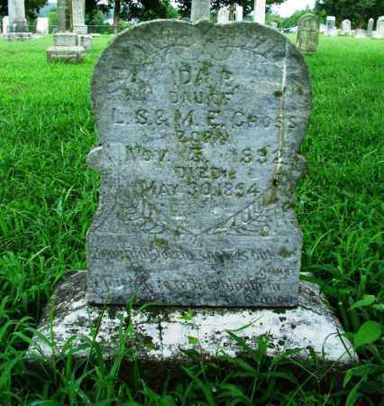 CROSS, IDA R. - Sebastian County, Arkansas   IDA R. CROSS - Arkansas Gravestone Photos