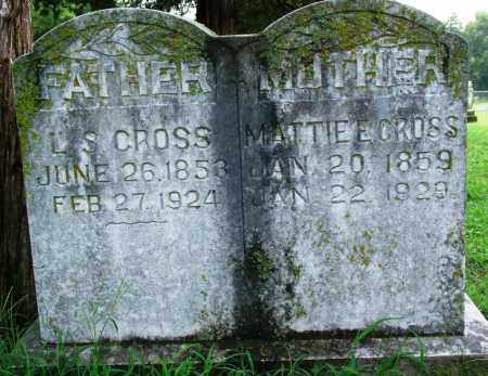 CROSS, MATTIE E. - Sebastian County, Arkansas | MATTIE E. CROSS - Arkansas Gravestone Photos
