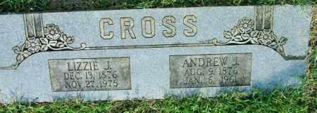 CROSS, ANDREW J. - Sebastian County, Arkansas | ANDREW J. CROSS - Arkansas Gravestone Photos