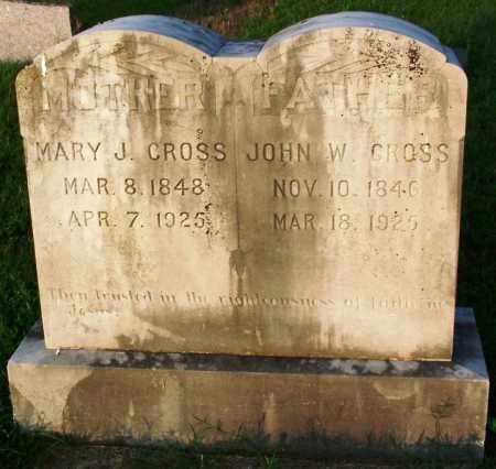 CROSS, JOHN WILLIAM - Sebastian County, Arkansas | JOHN WILLIAM CROSS - Arkansas Gravestone Photos