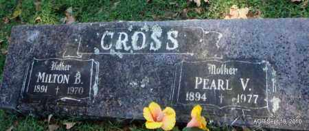 CROSS, PEARL V - Sebastian County, Arkansas | PEARL V CROSS - Arkansas Gravestone Photos