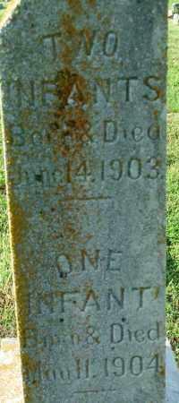 CROSS, ONE INFANT - Sebastian County, Arkansas | ONE INFANT CROSS - Arkansas Gravestone Photos