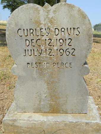 DAVIS, CURLEY - Sebastian County, Arkansas | CURLEY DAVIS - Arkansas Gravestone Photos