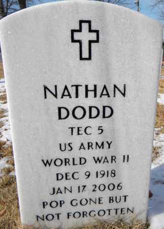 DODD  (VETERAN WWII), NATHAN - Sebastian County, Arkansas | NATHAN DODD  (VETERAN WWII) - Arkansas Gravestone Photos