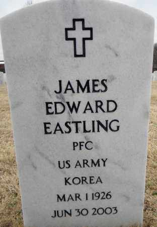 EASTLING (VETERAN KOR), JAMES EDWARD - Sebastian County, Arkansas | JAMES EDWARD EASTLING (VETERAN KOR) - Arkansas Gravestone Photos