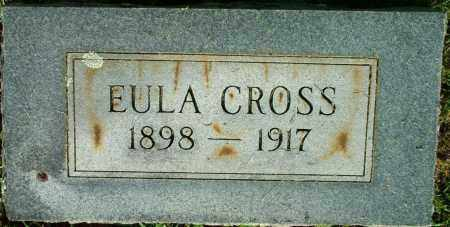 CROSS, EULA - Sebastian County, Arkansas | EULA CROSS - Arkansas Gravestone Photos
