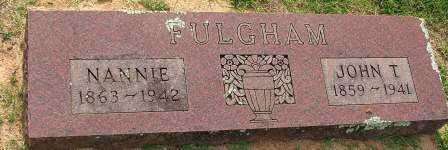 FULGHAM, JOHN T - Sebastian County, Arkansas | JOHN T FULGHAM - Arkansas Gravestone Photos