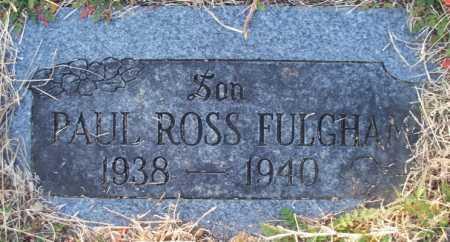 FULGHAM, PAUL ROSS - Sebastian County, Arkansas | PAUL ROSS FULGHAM - Arkansas Gravestone Photos