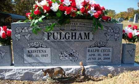FULGHAM, RALPH CECIL - Sebastian County, Arkansas   RALPH CECIL FULGHAM - Arkansas Gravestone Photos